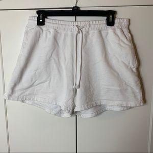 Women's Vans Lounge Slouch Fleece Shorts